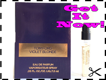 Free Sample of Tom Ford Violet Blonde