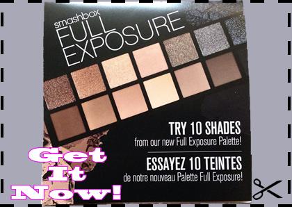 Free Sample of Smashbox Full Exposure Eyeshadow