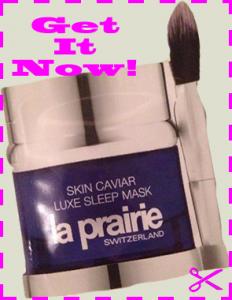 Free Sample of La Prairie Skin Caviar Luxe Sleep Mask