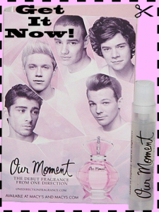 Free Sample One Direction Our Moment Perfume