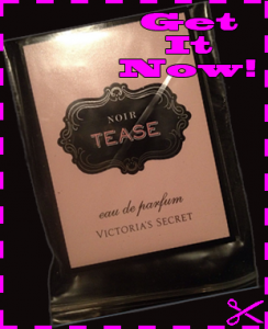Free Sample of Victoria's Secret Noir Tease Perfume