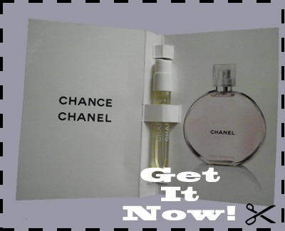 Free Sample of Chanel Chance Perfume EDT