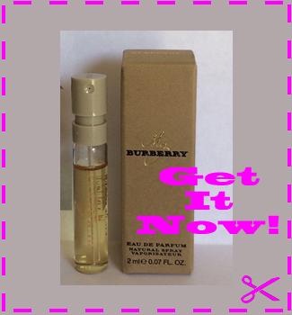 Free Sample of My Burberry EDP Perfume