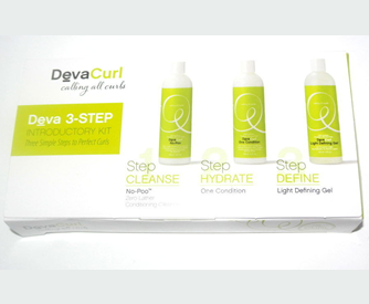 Free Sample Kit of Deva Curl 3 Step