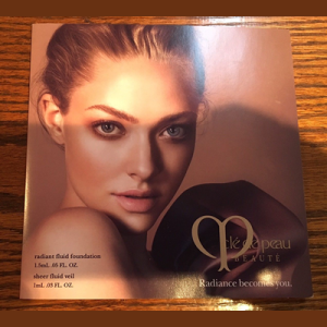 Picture of my Free Sample of Cle De Peau Beaute Radiant Foundation