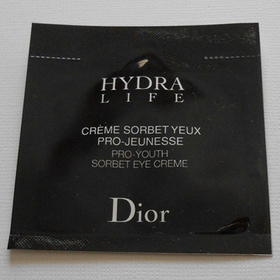 Picture of Dior Hydra Life Pro Youth Sorbet Eye Creme Free Sample