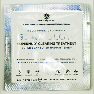 Picture of Glamglow Supermud Clearing Treatment Free Sample