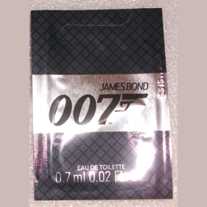 Picture of James Bond 007 Cologne EDT Free Sample