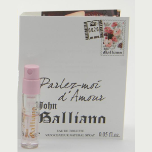Picture of my John Galliano Parlez-Moi d'Amour EDT Free Sample