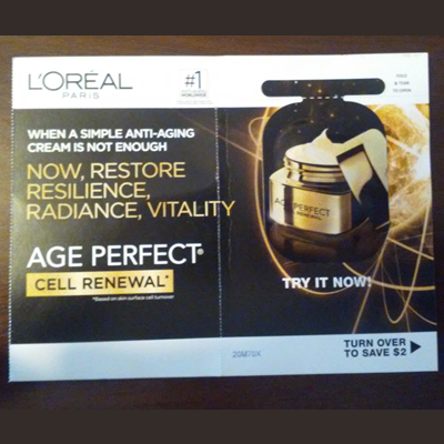 Picture of L'Oreal Age Perfect Cell Renewal Free Sample