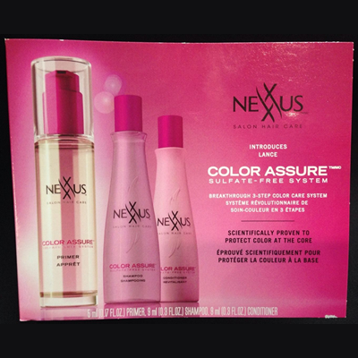 Picture of Nexxus Color Assure 3 Step Free Sample
