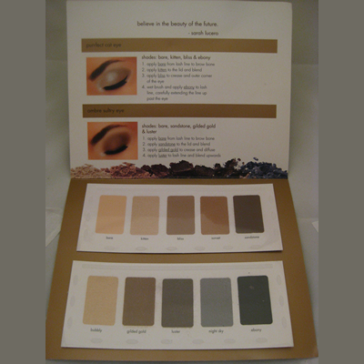 Picture of Stila In the Light Eye Shadow Palette Card Free Sample