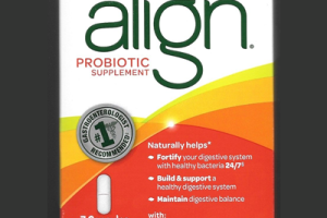 Picture of Align Probiotic Supplement 7 Day Starter Kit Sample