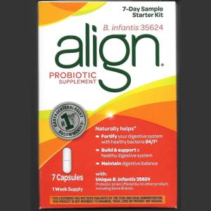 Picture of Align Probiotic Supplement 7 Day Starter Kit Sample
