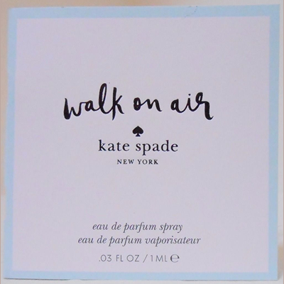 Picture of Kate Spade Walk On Air EDP Free Sample