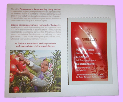 Picture of Weleda Pomegranate Regenerating Body Lotion Free Sample